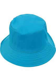 Chapéu Bucket Hat Liso Lilás Azul