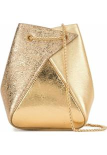 The Volon Bolsa Tote Mani Mini - Dourado