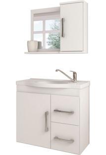 Conjunto De Banheiro Vix Branco