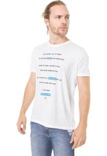 Camiseta Ellus Pray Branca