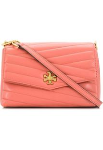 Tory Burch Quilted Shoulder Bag - Rosa