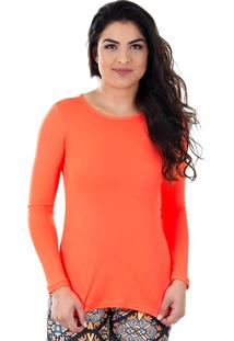 Camiseta Feminina Aiyra - Laranja