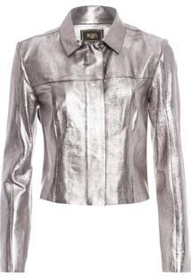 Camisa Feminina Vivi - Prata