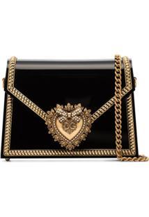 Dolce & Gabbana Bolsa Devotion - Nero
