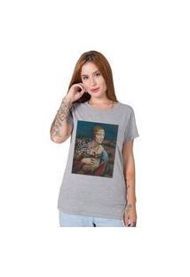 Camiseta Dama&Dog Cinza Stoned