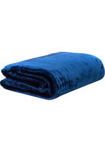 Cobertor Eclipse Casal - Azul Escuro - 180X220Cmsultan