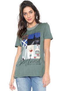 Camiseta Lança Perfume Hotfix Verde