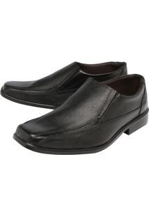 Sapato Couro Clauss Básico Preto