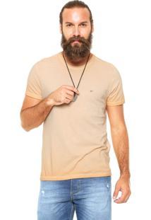 Camiseta Ellus Retrocolor Coral