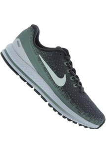 Tênis Nike Zoom Vomero 13 - Masculino - Cinza Esc/Verde Esc