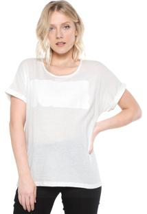 Blusa Ana Hickmann Woman Power Off-White