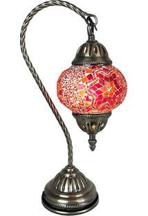 Abajur Decorativo Mosaico Red