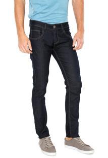 Calça Jeans Fiveblu Reta Dark Azul