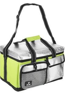 Bolsa Térmica Lunch Box Verde - Acte Sports - M - Unissex