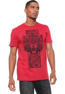 Camiseta Triton Tigre Vermelha