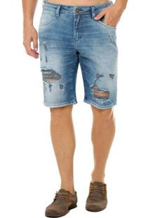 Bermuda Osmoze Middle Masculina - Masculino-Jeans