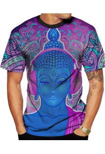 Camiseta Di Nuevo Buda Psicodélico Alucinógeno Preta