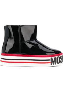 Moschino Ankle Boot - Preto