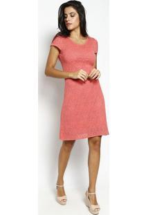 83b723740 Vestido Flamingo Vazado feminino   Shoelover