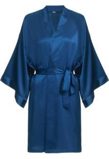 Robe Bella Luna Loungerie – Azul
