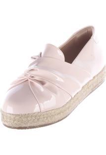 Alpargatas Damannu Shoes Laço Rosa