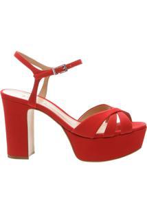 22c1619a19 Meia Pata Com Salto Vermelha feminina