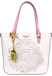 Bolsa Nicole Lee Keisha Shopper Branco