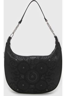 Bolsa Desigual Shoulder Bag Majestic Preta