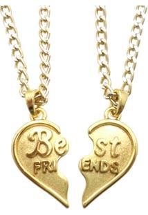 Corrente Tuliska Best Friends Dourada - Feminino