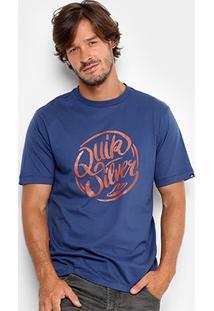 Camiseta Quiksilver Básica Brush Masculina - Masculino