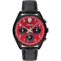 e4be1e88621 Relógio Scuderia Ferrari Masculino Couro Preto - 830571 Vivara