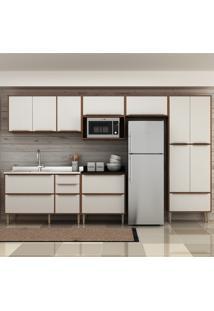 Cozinha Compacta Multimóveis Calábria 13 Portas E 4 Gavetas