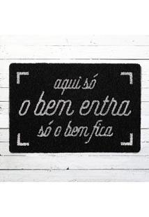 Capacho - O Bem Entra