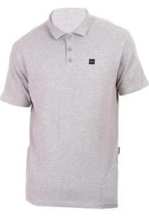 Camisa Polo Oakley Patch 2.0 - Masculino-Cinza