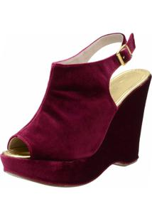 Sandália Dr Shoes Casual Bordo