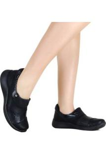 Sapato Piccadilly Sem Cadarço Anabela