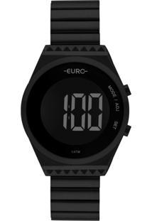 Relógio Euro Fashion Fit Slim Preto Eubjt016Ad/4P