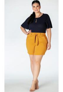 Blusa Plus Size Marinho