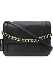 Marc Jacobs Bolsa Tiracolo Cushion - Preto