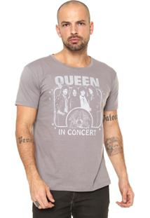 Camiseta Bandup! Queen Cinza