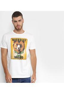 Camiseta Colcci Monday Mood Estampada - Masculino