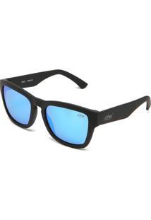 Óculos De Sol Krew Espelhado Preto/Azul