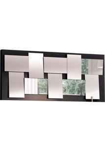 Espelho Decorativo Oxford 135 X 61 Preto