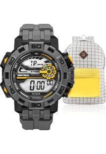 ... Kit Relógio Masculino Mormaii Com Mochila Vintagemo1148Ac e58f326f53