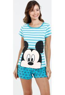 Pijama Feminino Estampa Mickey Disney