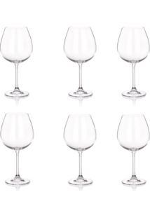 Taça Burgundy Banquet Crystal Degustation 650Ml 6 Peças - 30104