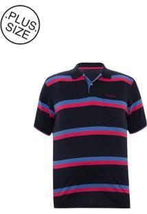 Polo Plus Size Marinho Colors