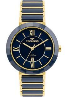 Relógio Technos Ceramic Feminino 2015Ce/5A 2015Ce/5A - Feminino-Azul