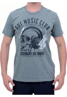 Camiseta Plus Size Gul Music Masculina - Masculino