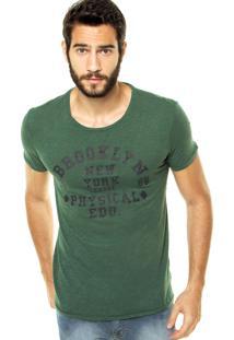 Camiseta Benetton Estampa Verde